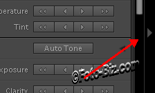 Lightroom: Panel Actuator