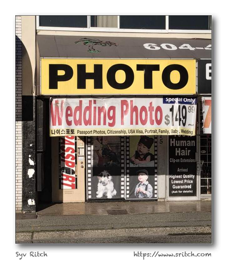 This photo studio offers wedding photo for $149