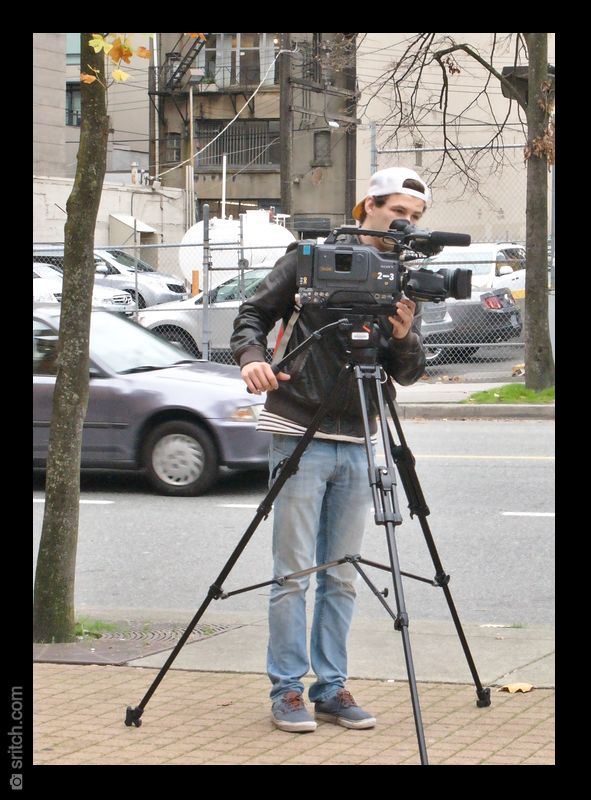 Antiquated News Video Camera