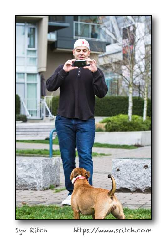 Photographing of the Photographer: Vancouver, BC