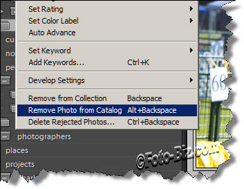 Lightroom: Delete Photos Through Collections
