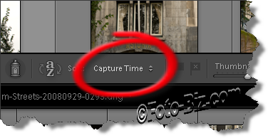 Lightroom: Sorting Photos