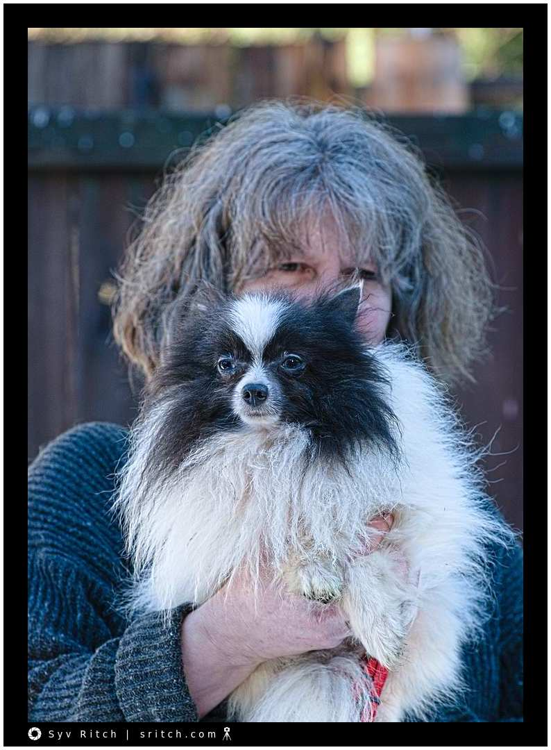 Kathe with Abandoned Papillon